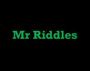 Mr Riddles Logo