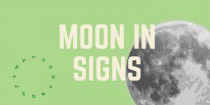 astrology chart interpretations moon in signs